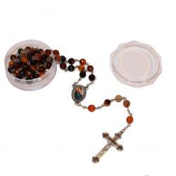 rosario de piedra natural